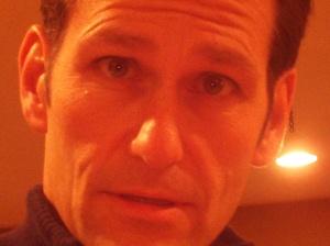 Dan Presser basks in the glow of internet video